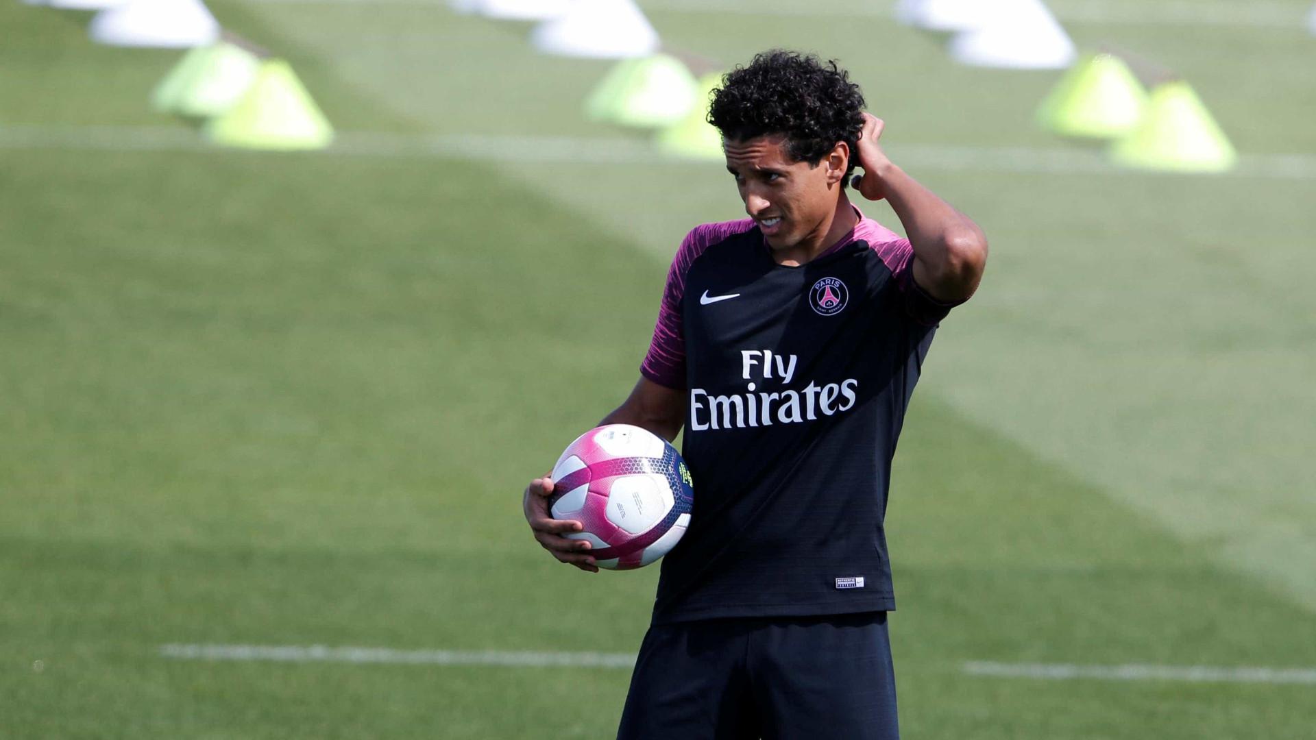 Marquinhos nega mudança de posição e revela conselhos a Neymar