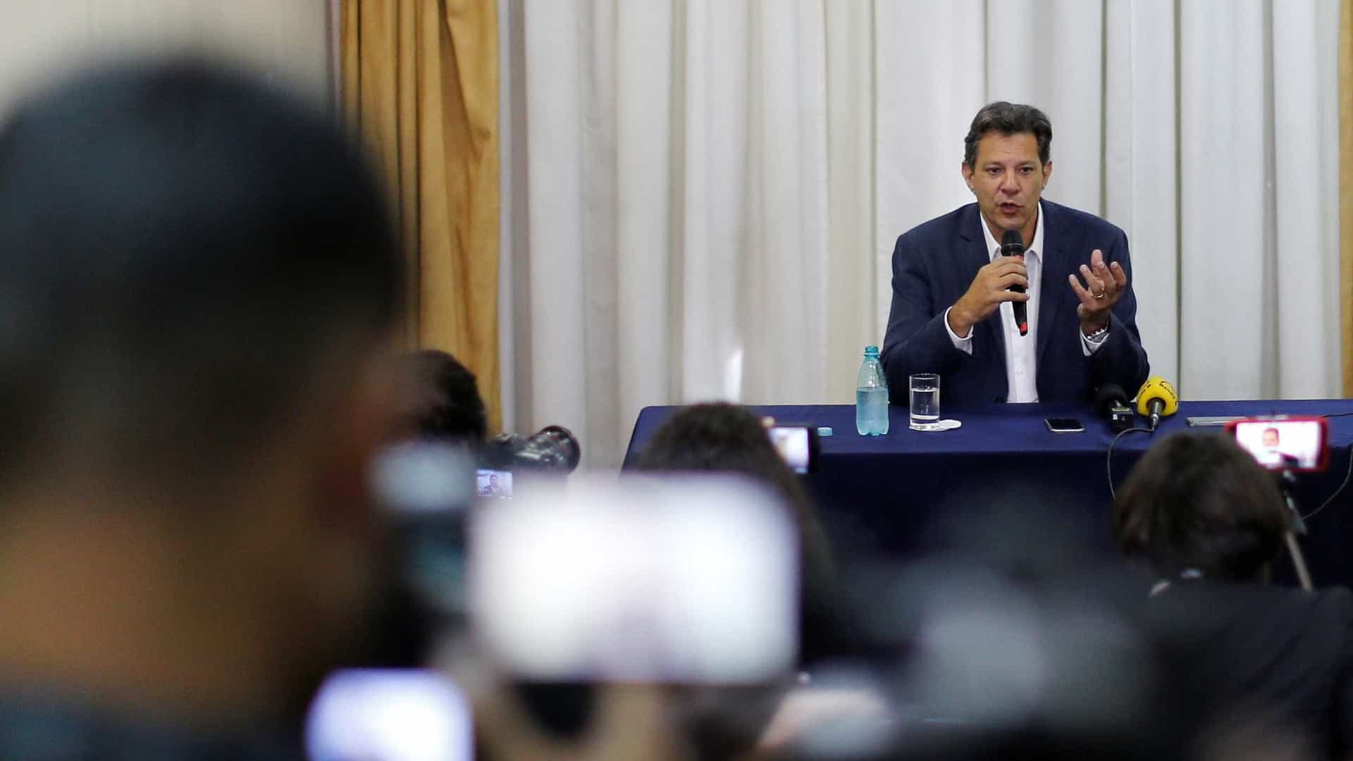 Haddad admite que faltou controle de estatais durante governos do PT