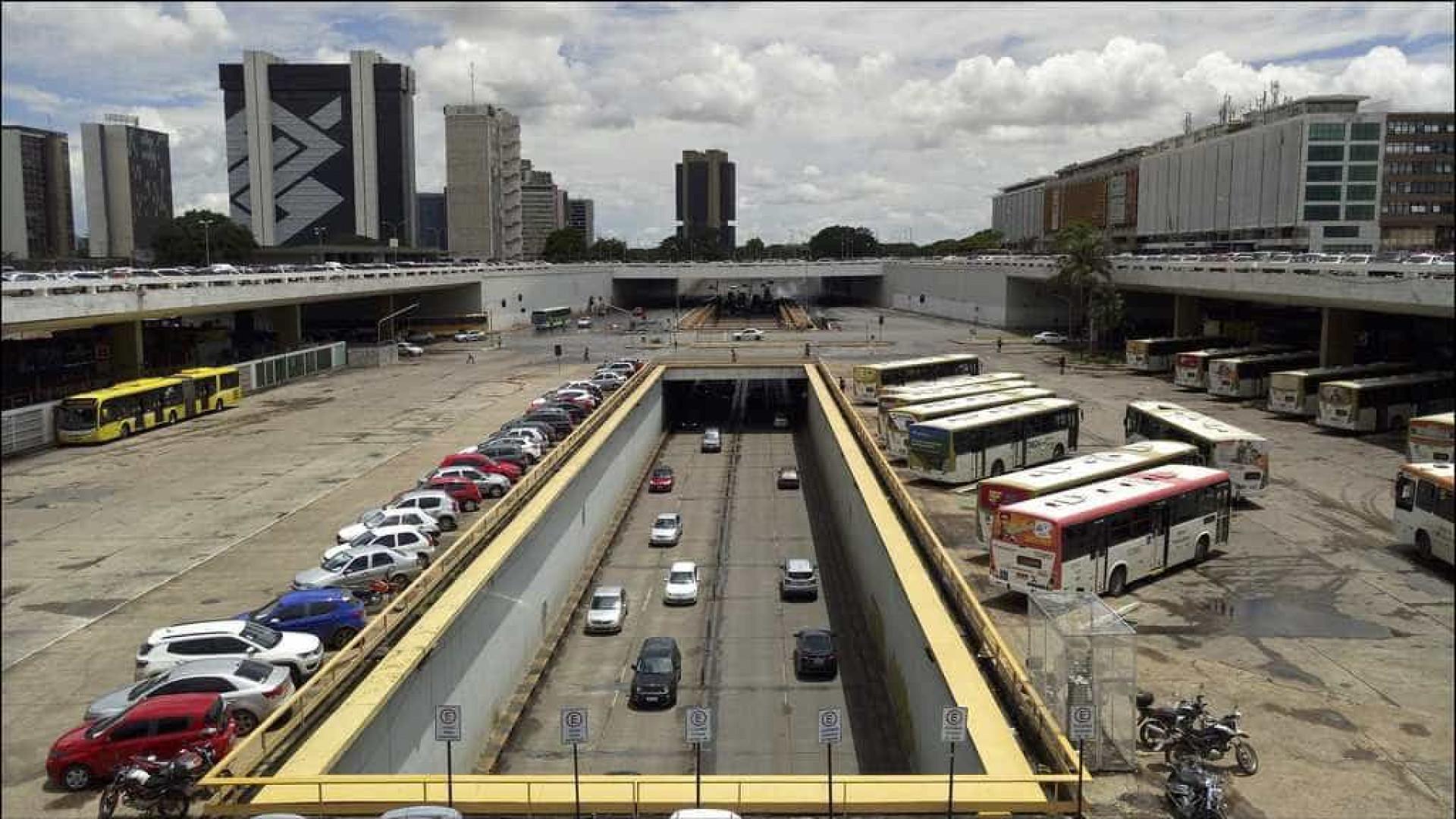 Parte da Rodoviária de Brasília é interditada