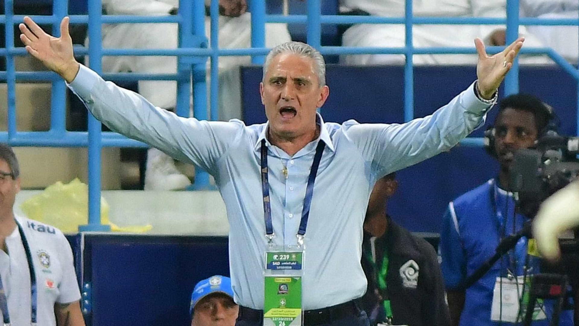 Contra a Argentina, Tite faz esboço da seleção para Copa América