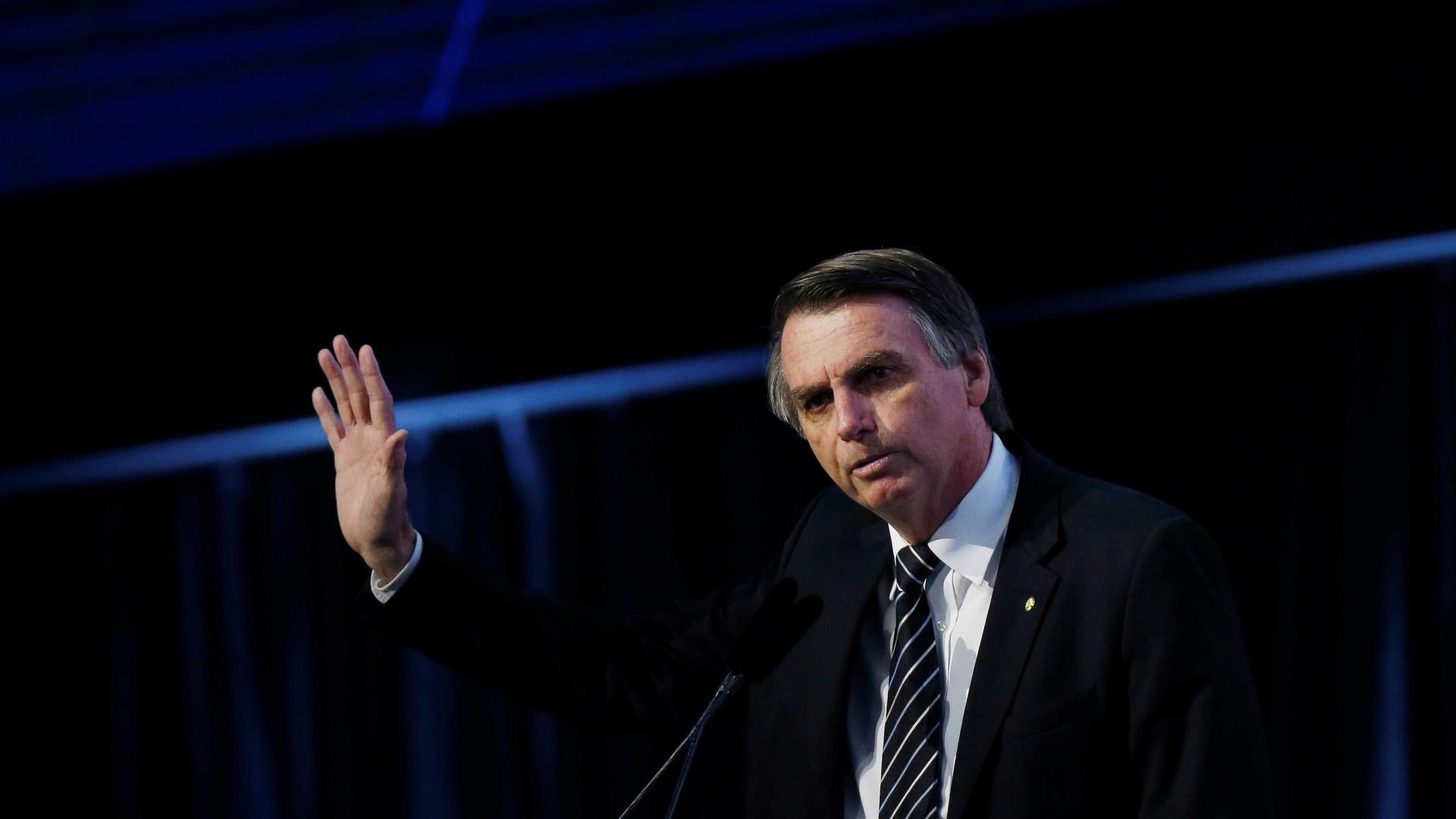 Bolsonaro diz que Trump pode vir ao Brasil para sua posse em janeiro