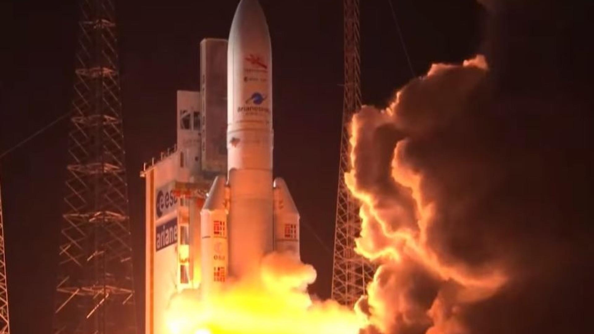 Foguete da primeira missão europeia a Mercúrio é lançado; assista