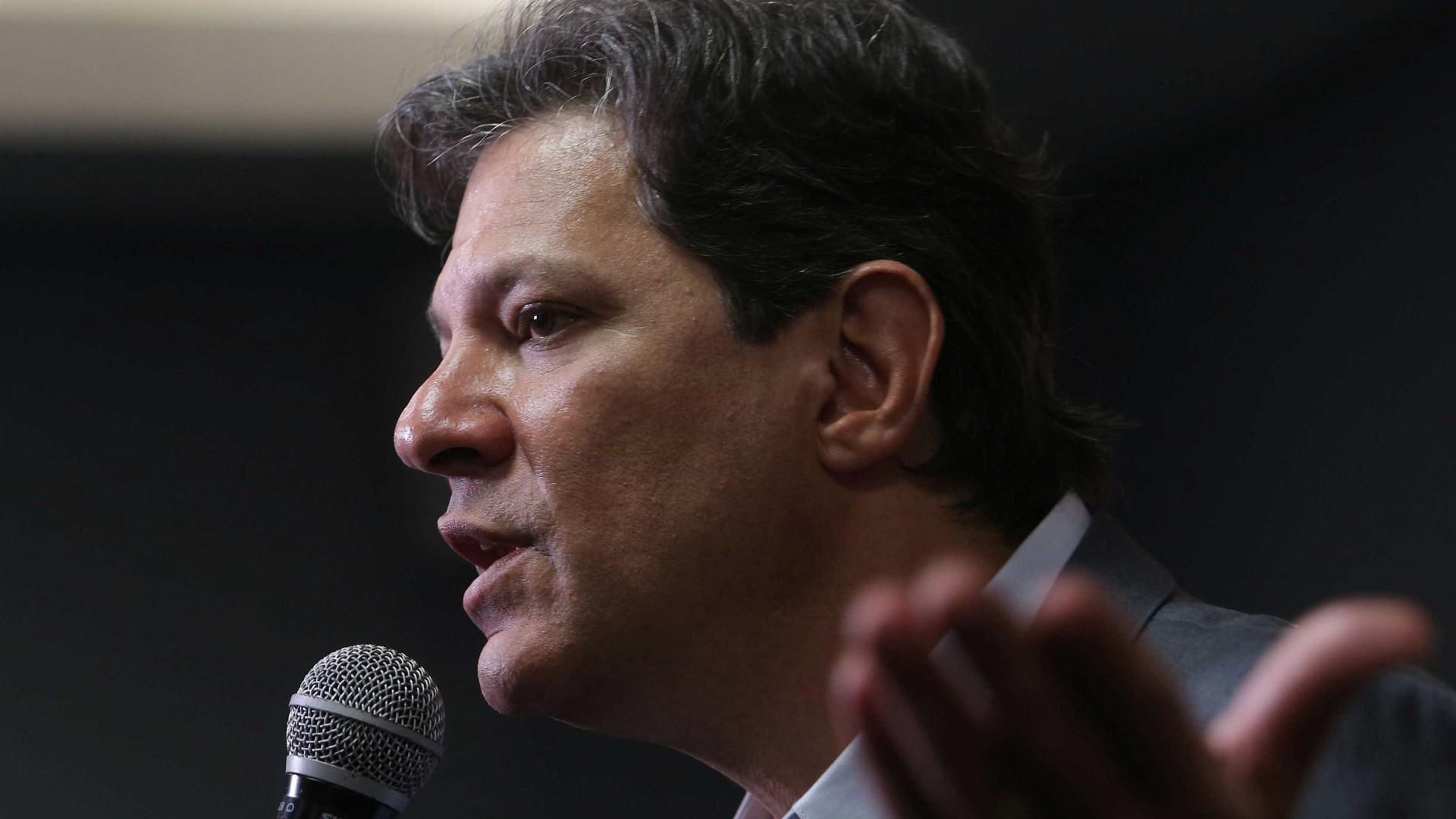 Haddad é condenado a pagar R$ 200 mil por acusar promotor sem provas