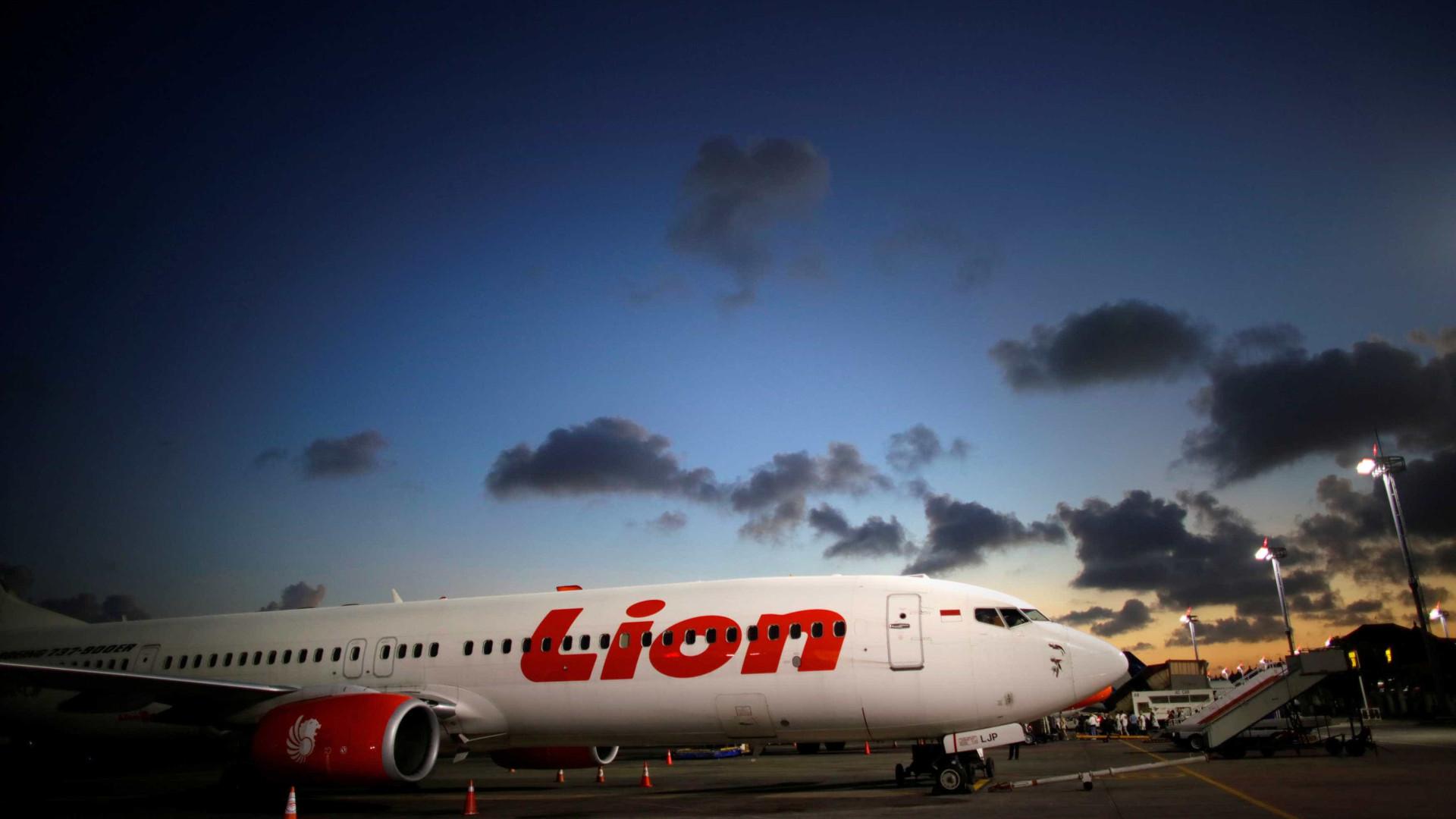 Avião da Lion tinha erros no controle de voo antes de cair na Indonésia
