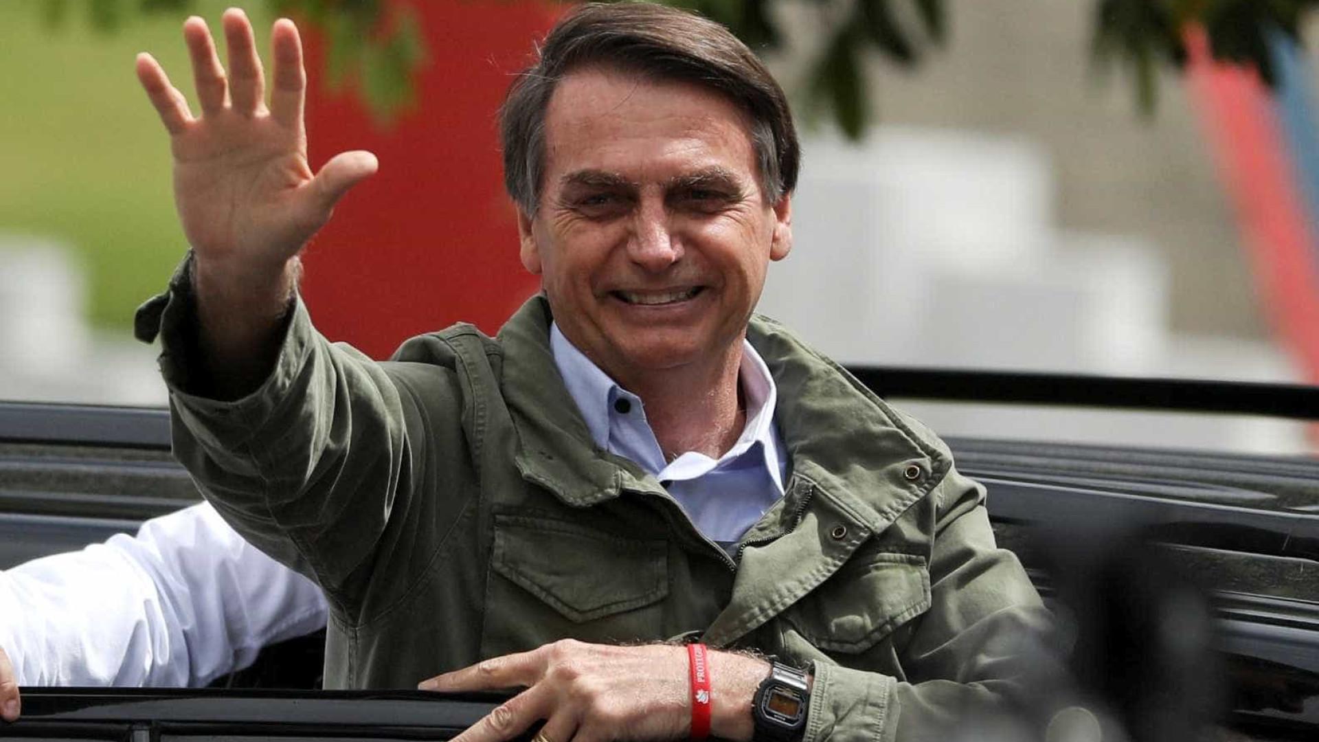 'Não foi fácil, foi o amor de Deus', diz Bolsonaro sobre eleição