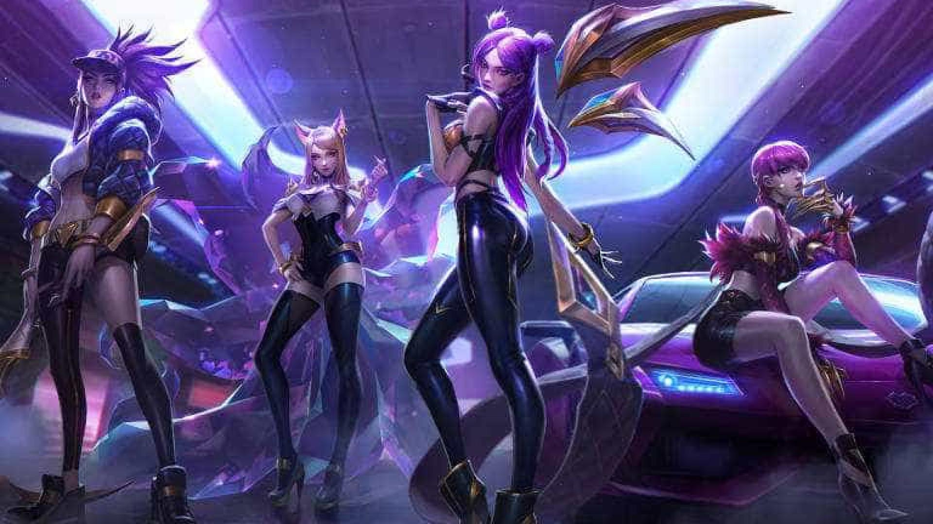 Empresa de games cria banda feminina virtual inspirada no k-pop