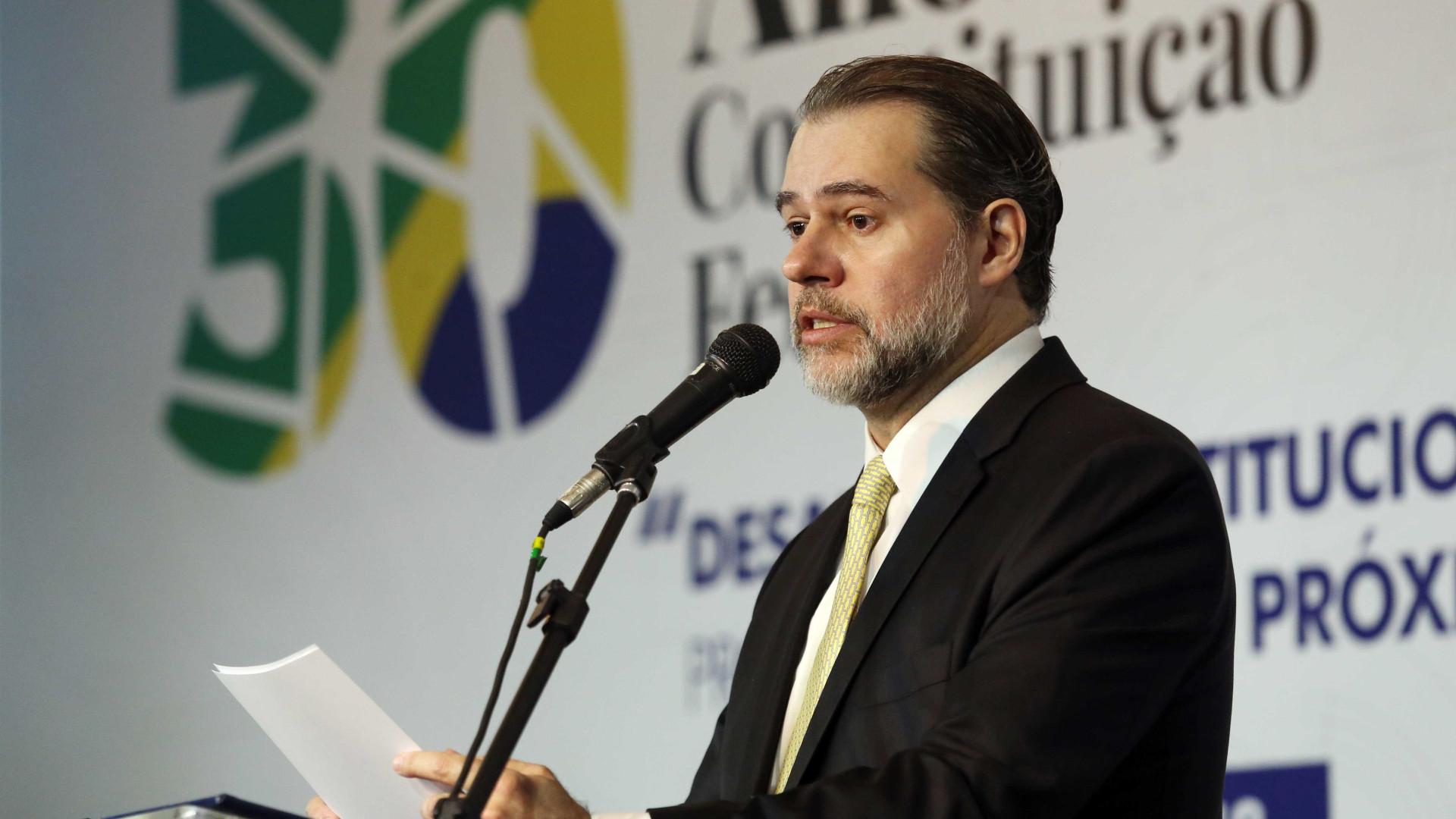 Presidente do STF defende reformas da Previdência e tributária