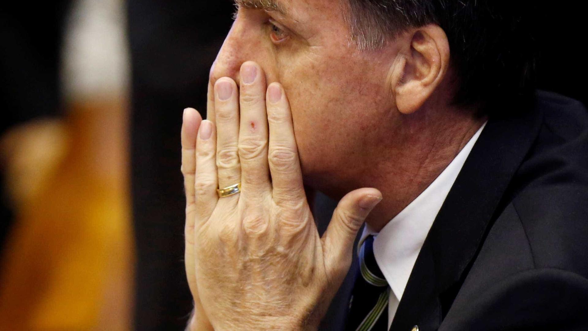 Bolsonaro recua sobre embaixada em Jerusalém: 'Não está decidido'