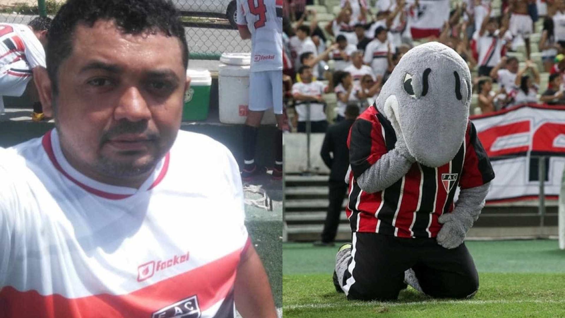 Morre mascote do Ferroviário; Intérprete sofreu acidente em Fortaleza