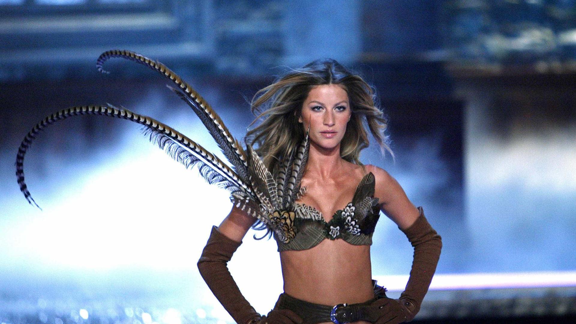 Gisele Bündchen diz que sorteio definiu que deixaria Victoria's Secret