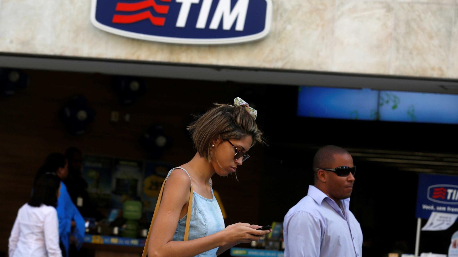 Lucro líquido da TIM cresce 39% no primeiro trimestre