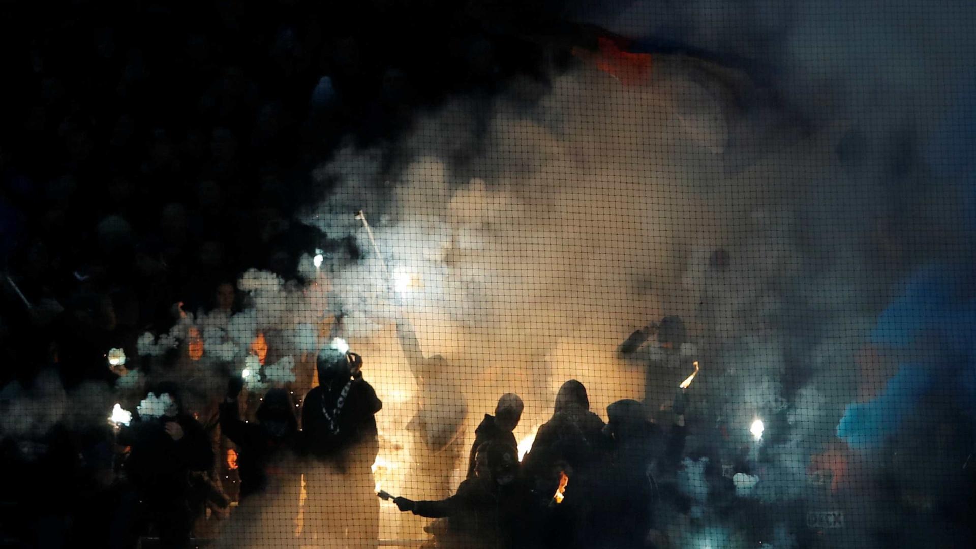 Briga entre torcedores da Roma e CSKA deixa 3 feridos