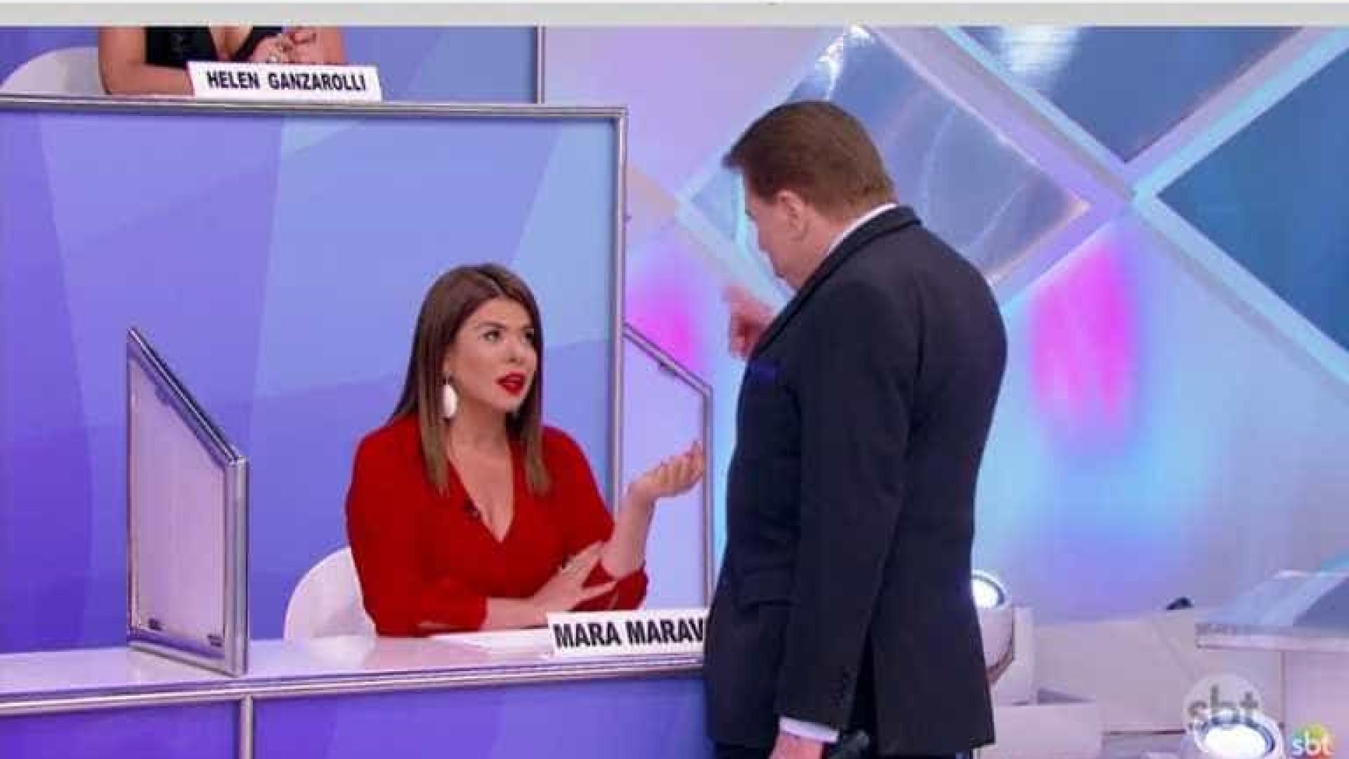 Silvio Santos alfineta Mara Maravilha: 'Ninguém suporta'