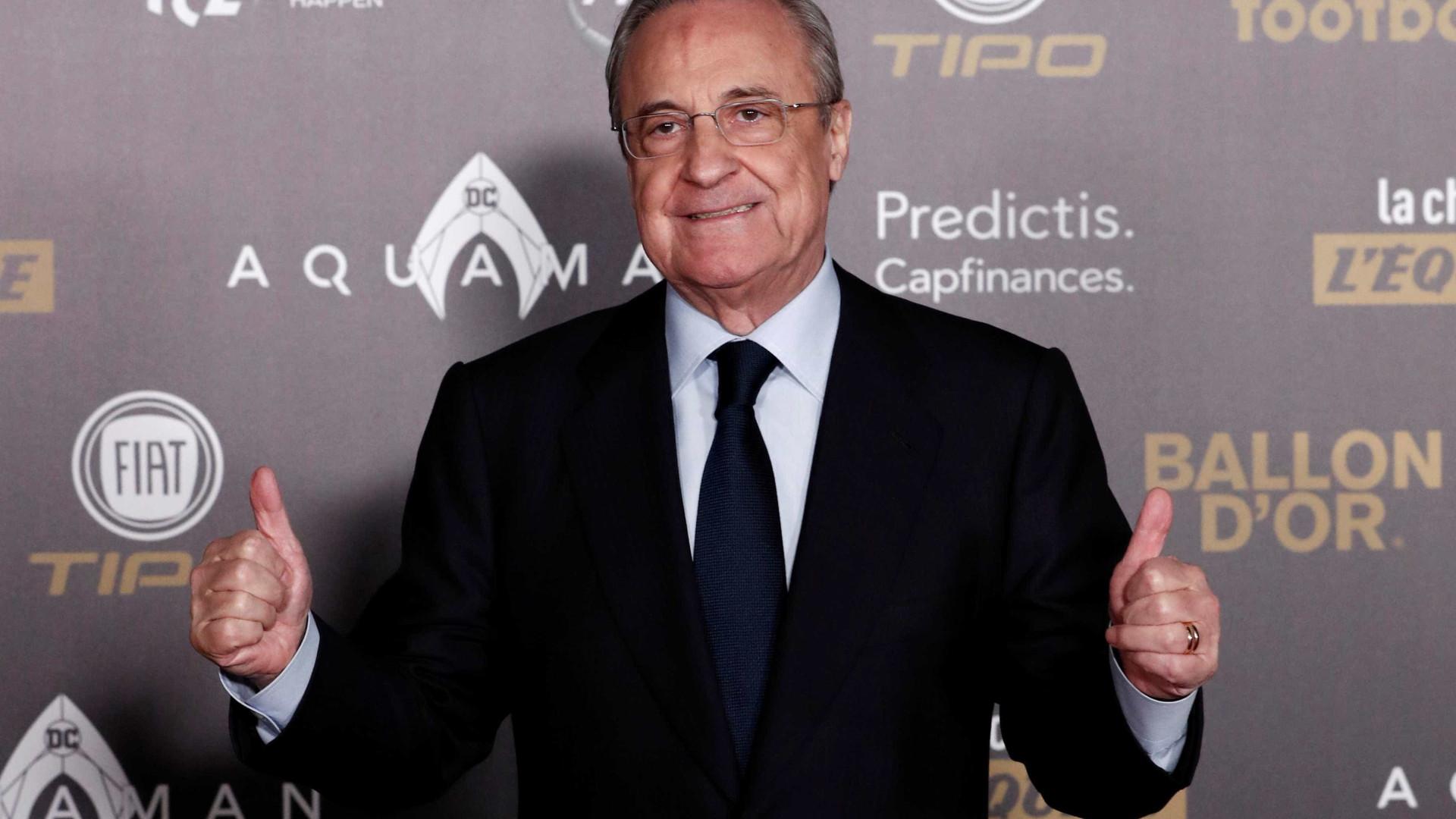 'Mbappé? Nós temos Rodrygo', diz presidente do Real Madrid