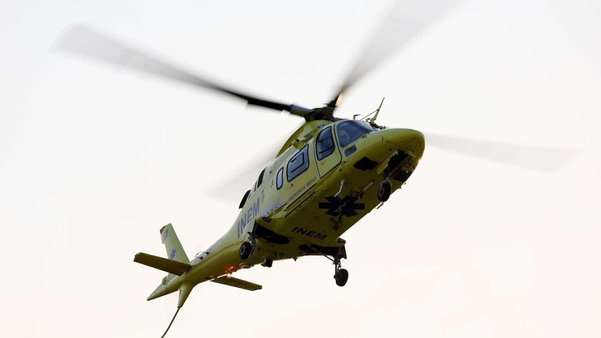 Helicóptero de 'Samu' português cai e mata quatro pessoas