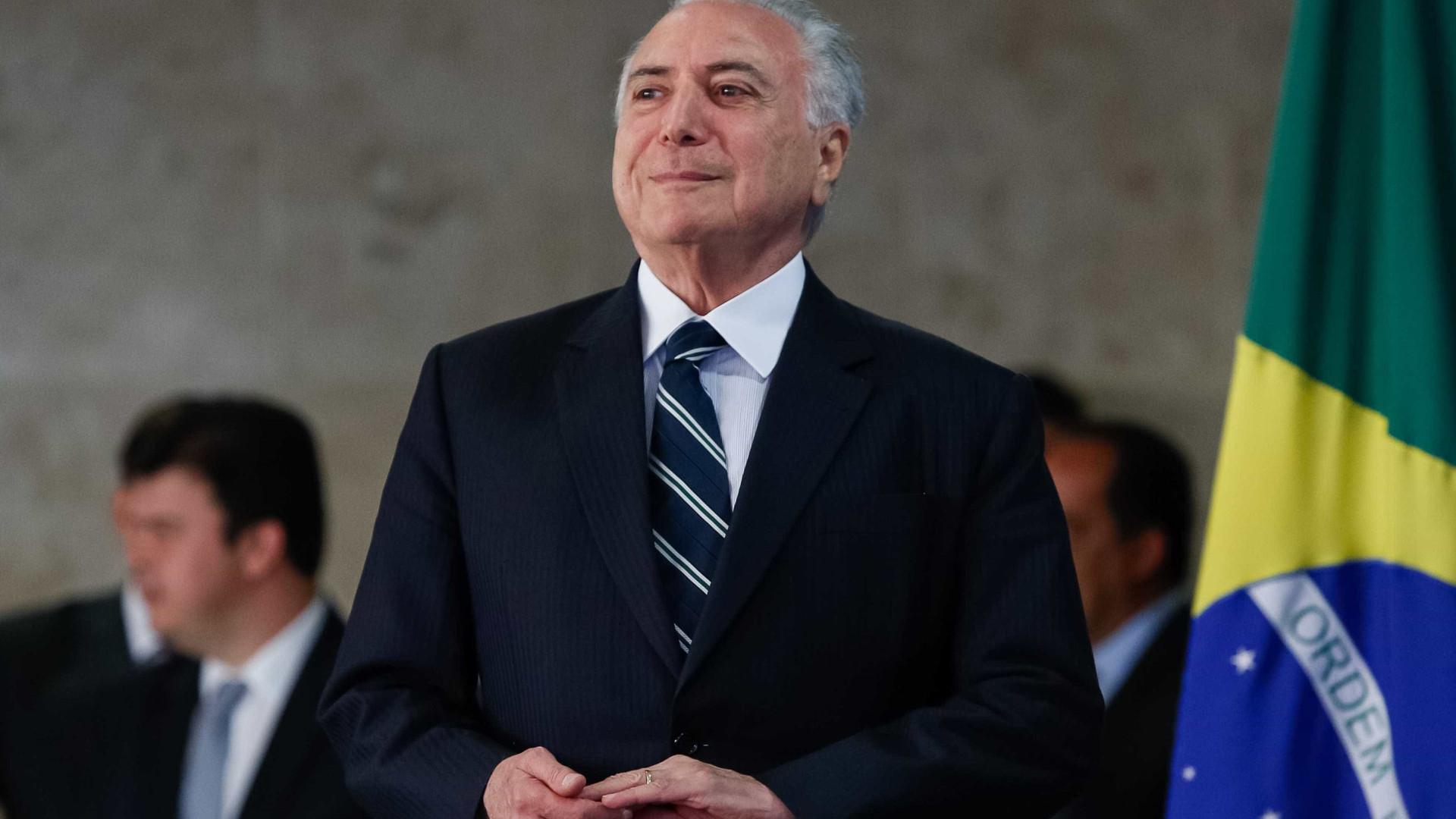Temer convoca reunião ministerial e cumpre agenda em SP e Goiás