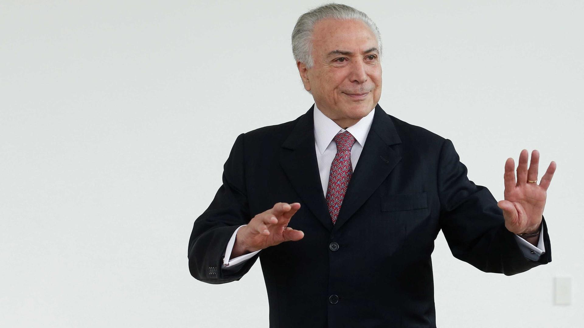 Denunciado, Temer deve ter mais 5 investigações ao deixar o Planalto