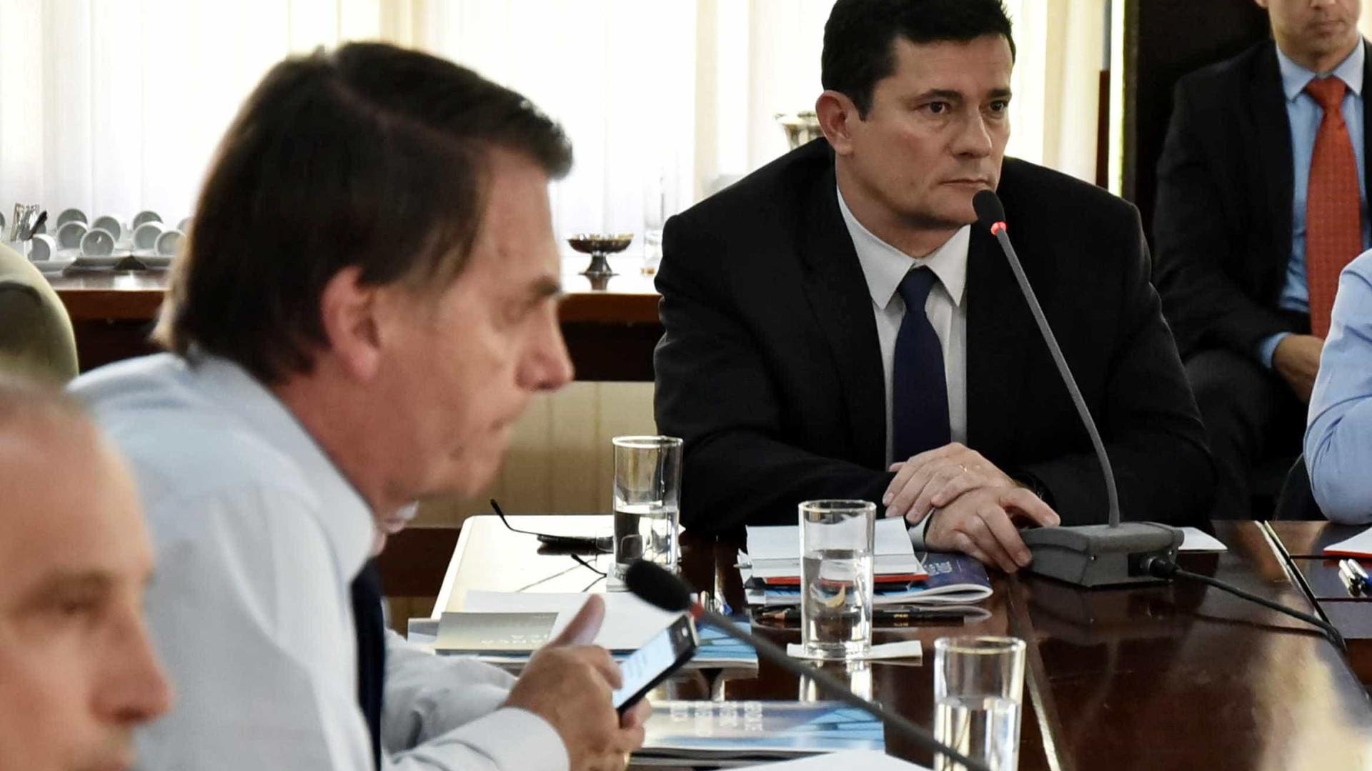 Moro faz alerta sobre corrupção a colegas do governo Bolsonaro