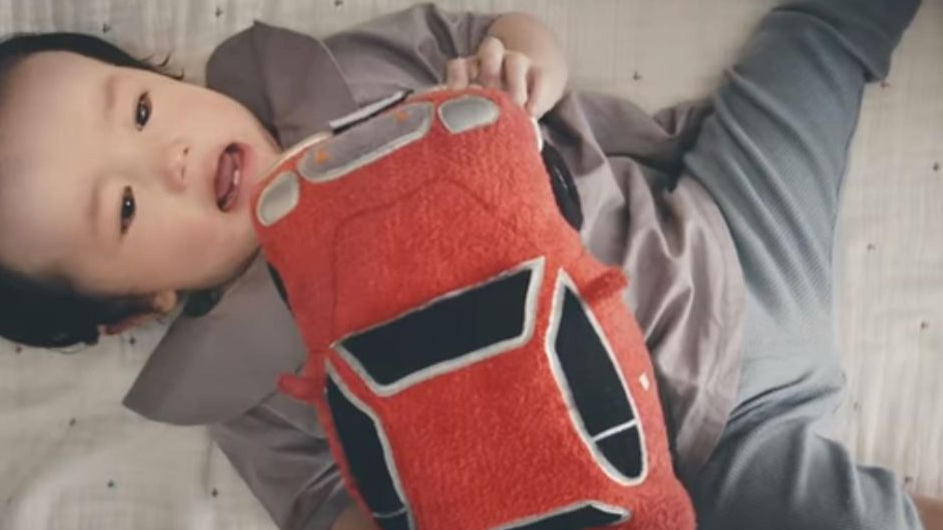 Honda desenvolve protótipo para fazer bebês pararem de chorar