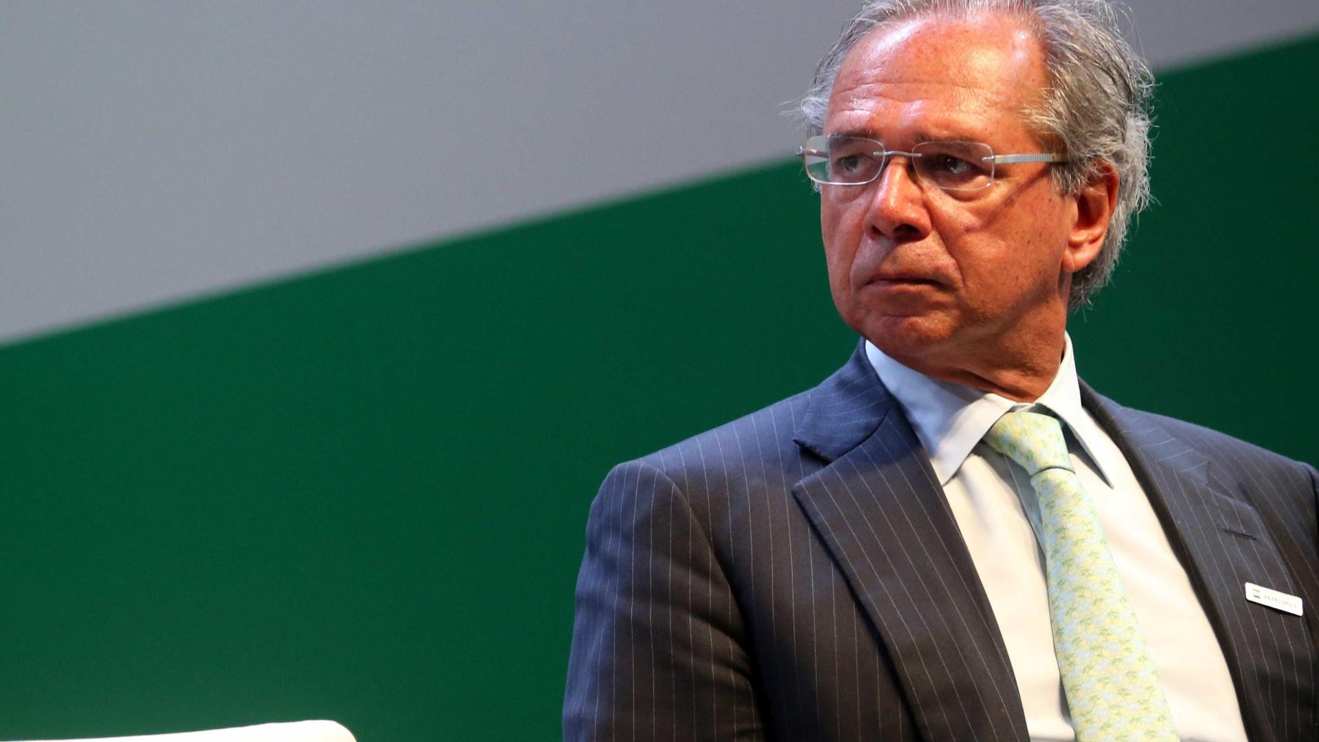 Guedes em posse dos presidentes de bancos públicos: 'Fim da falcatrua'