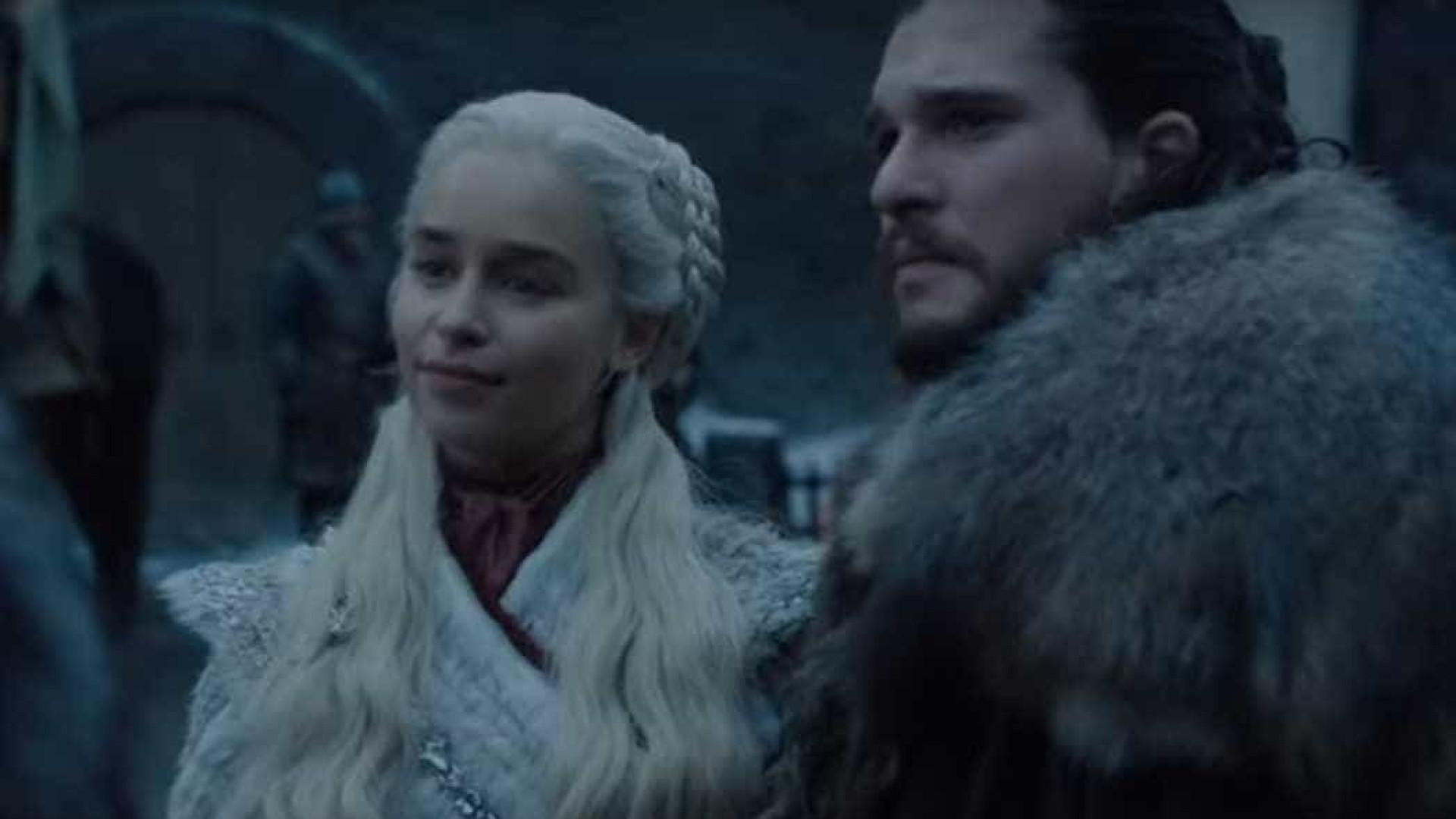 HBO divulga primeiras cenas da última temporada de 'Game of Thrones'