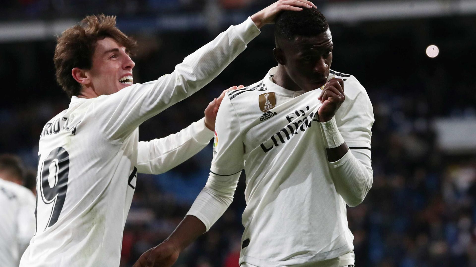 Veja o golaço de Vinícius Jr. na vitória do Real Madrid sobre o Leganés