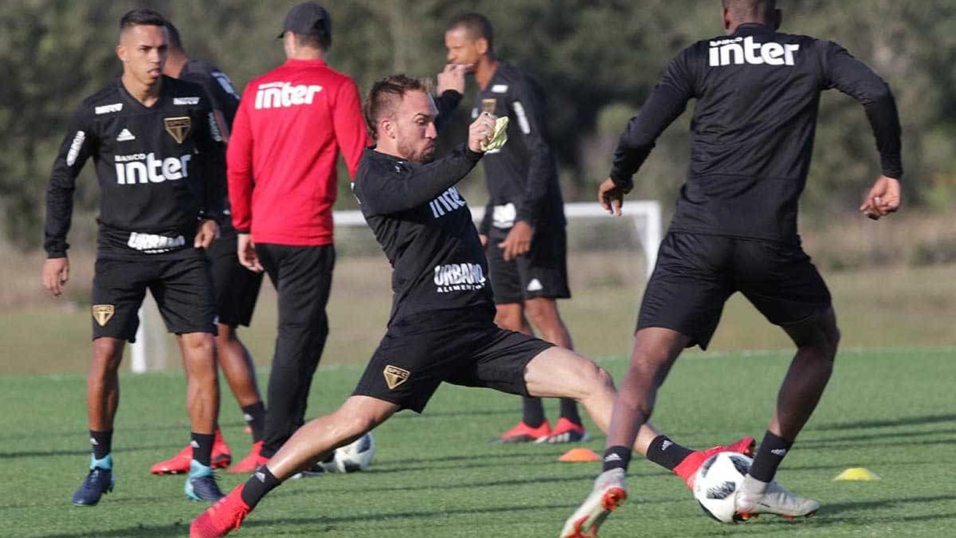 Novo São Paulo encara Eintracht Frankfurt no seu primeiro teste no ano