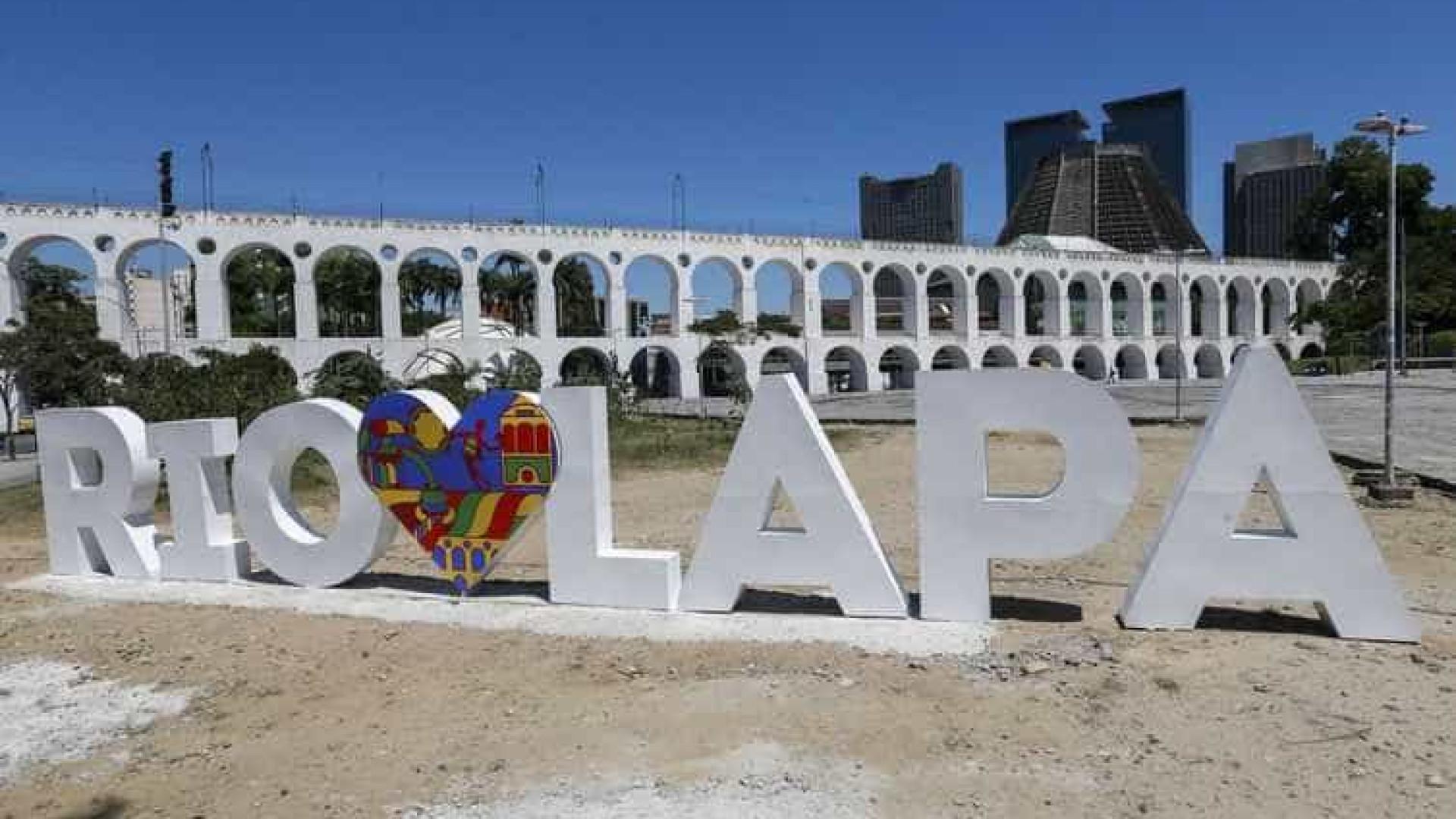 Lapa inaugura mobiliário urbano na Praça dos Arcos