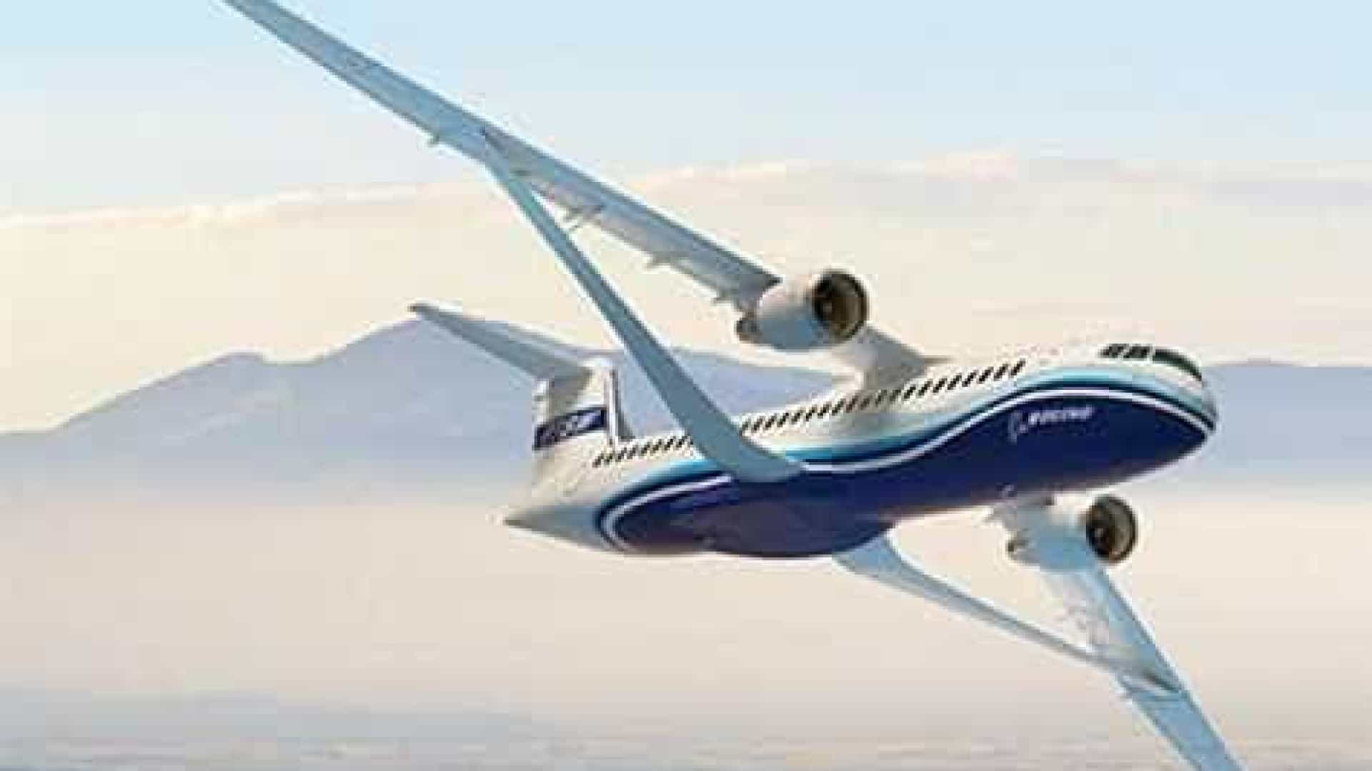Boeing aposta em 'asa-treliça' para tornar avião mais rápido