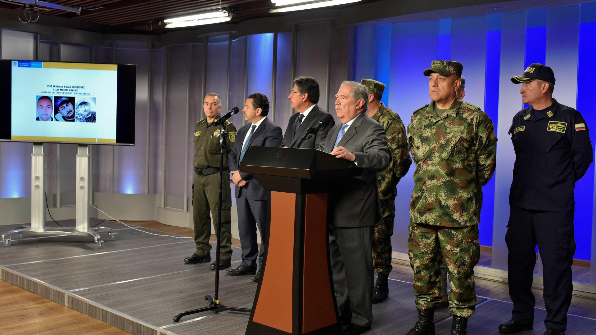 Colômbia responsabiliza ELN por atentado em Bogotá