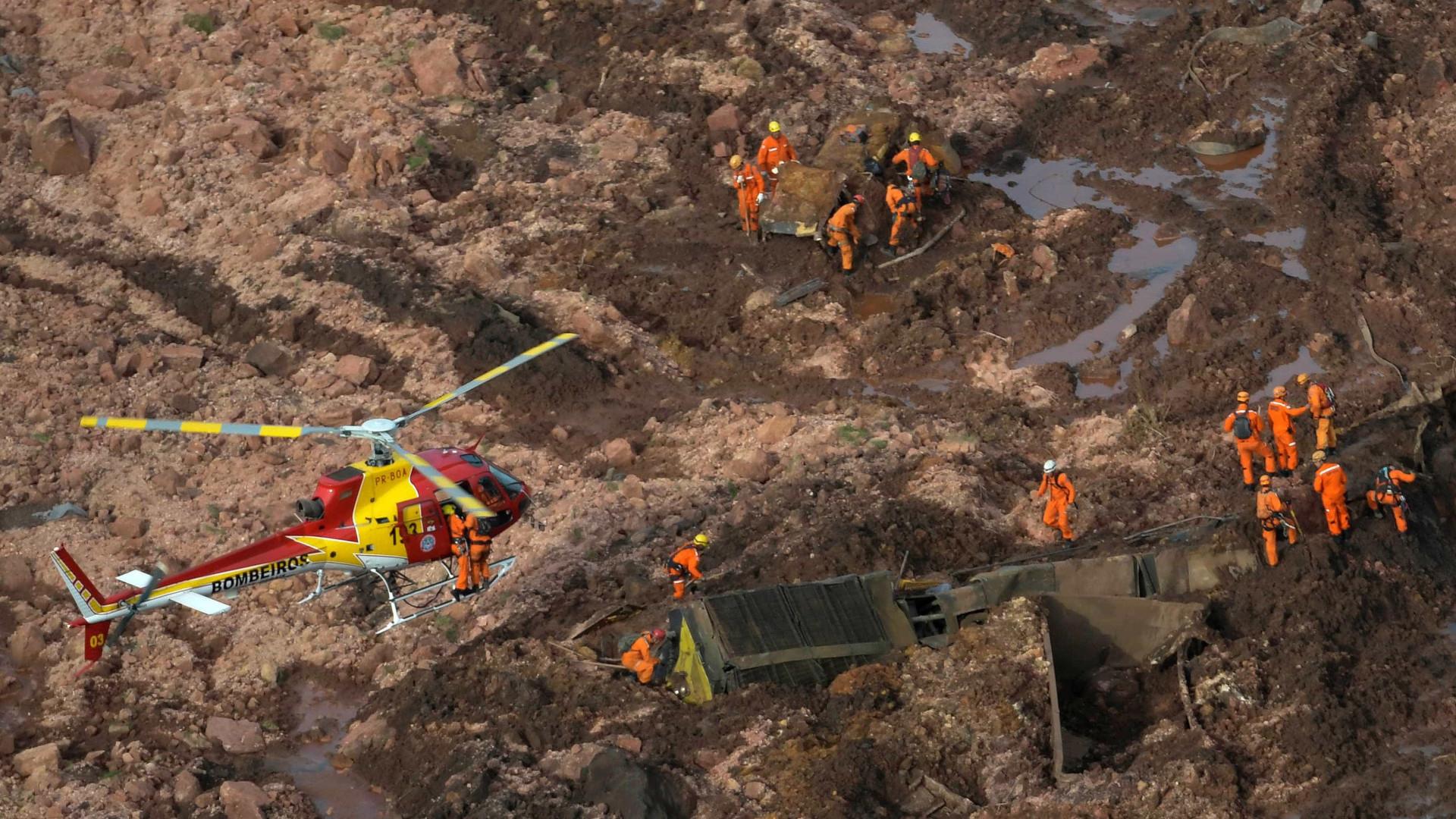 Sobe para 65 número de mortos em Brumadinho; há 279 desaparecidos