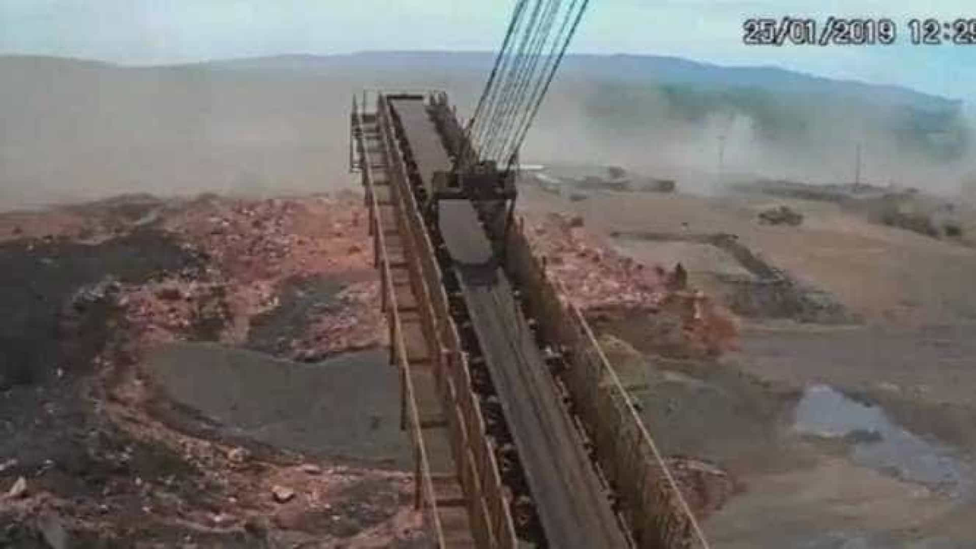 Vídeo mostra momento em que barragem se rompe em Brumadinho; assista