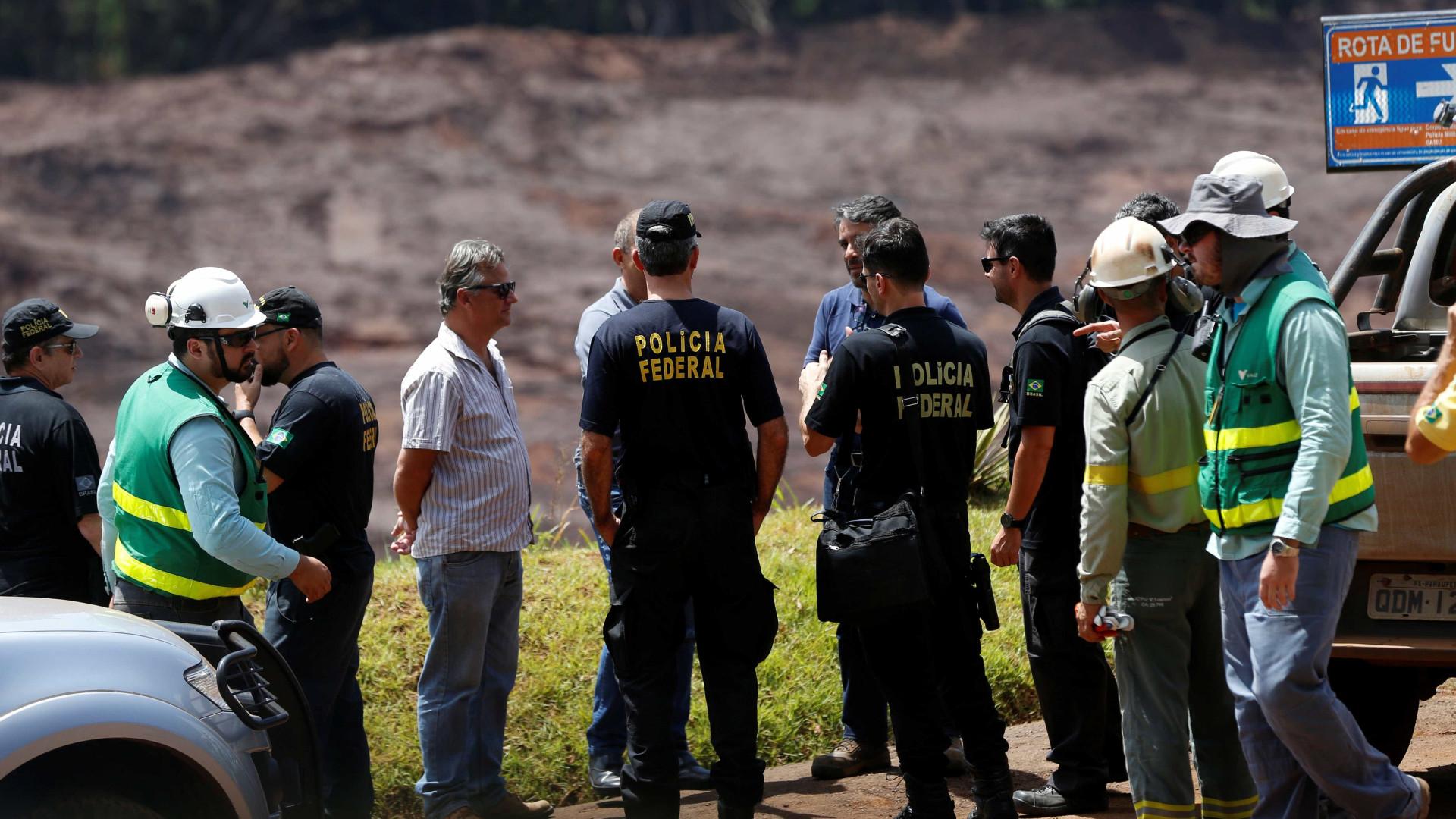 PF interroga engenheiros presos para confirmar documentos da Vale