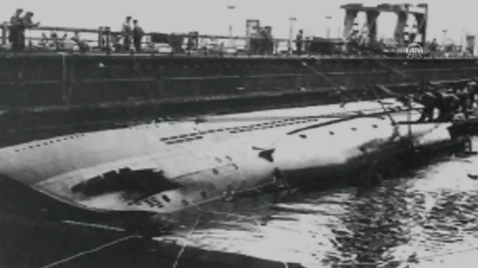 Encontrado o segundo submarino da 'frota perdida' de Hitler