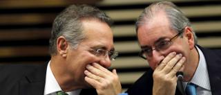 Renan confirma varredura em gabinete  e residência de Cunha