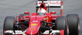 Com Vettel, Ferrari lidera treinos livres no México