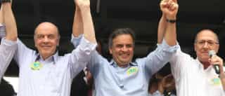 Apoio de Serra a Aécio na presidência do PSDB deixa Alckmin alerta