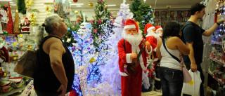 Comerciantes projetam queda nas vendas de Natal