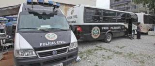 Polícia prende oito suspeitos de vender  armas e drogas para traficantes