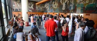 Polícia acaba com protesto contra Temer  no Palácio Capanema