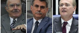 PF conclui que Sarney, Jucá e Renan não obstruíram Lava Jato