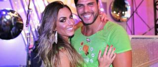 Após boatos, Nicole Bahls nega crise  em namoro com Marcelo Bimbi