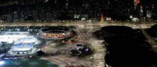 Quintal e arenas do Parque Olímpico ainda sofrem ajustes