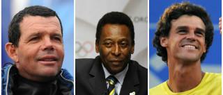 Torben Grael, Pelé e Guga são cotados  para acender pira olímpica