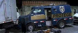 Brasil é o país mais perigoso para transportar dinheiro em carro-forte