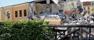 Itália prende homem que tentava  saquear casa desmoronada