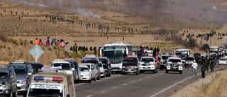 Manifestantes retém vice-ministro boliviano em protesto contra prisões