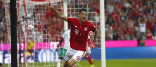 Em busca do penta, Bayern faz 6 a 0  no Werder na estreia do Alemão