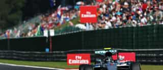 Confira o grid de largada do Grande Prêmio da Bélgica de Formula 1