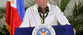 Presidente filipino nega querer romper  laços com EUA